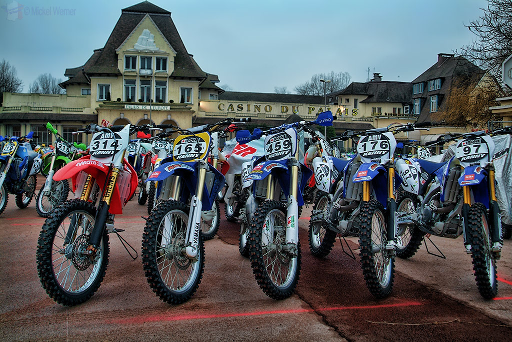 Parc fermee at Le Touquet Enduropale