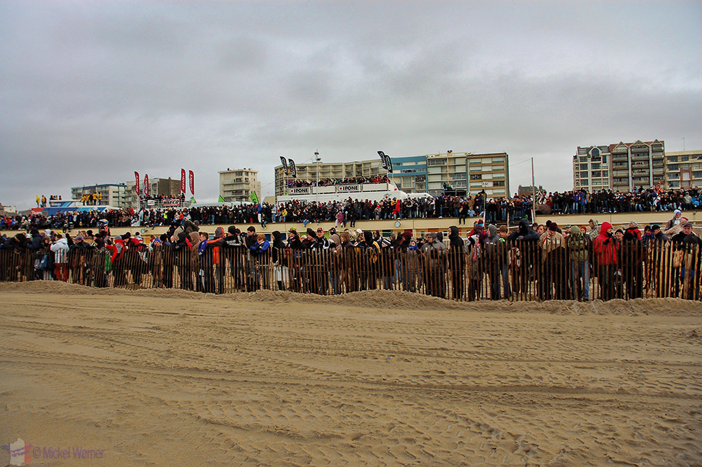 Many spectators at Le Touquet Enduropale