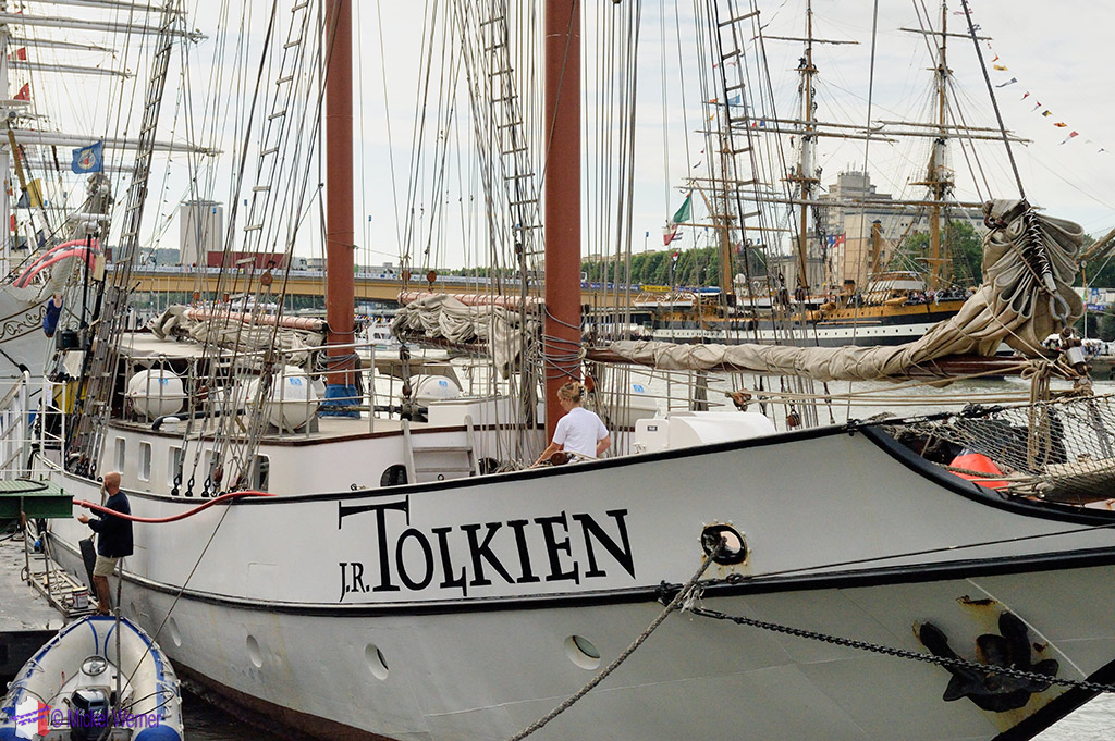 Rouen's Armada of tall sail ships