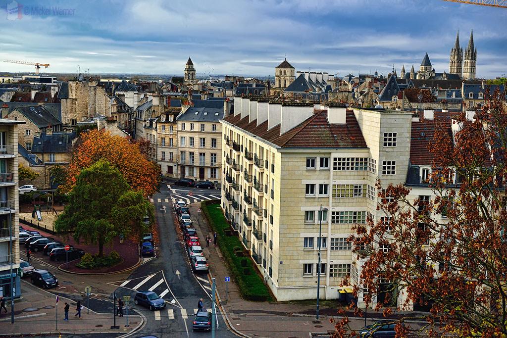 Skyline of Caen