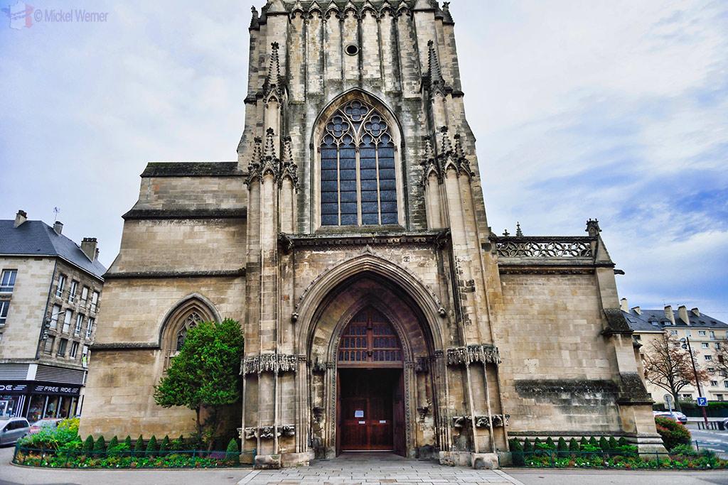 St. Pierre church of Caen