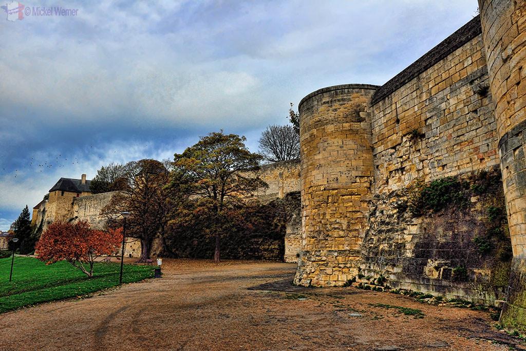 Caen's fortress/castle