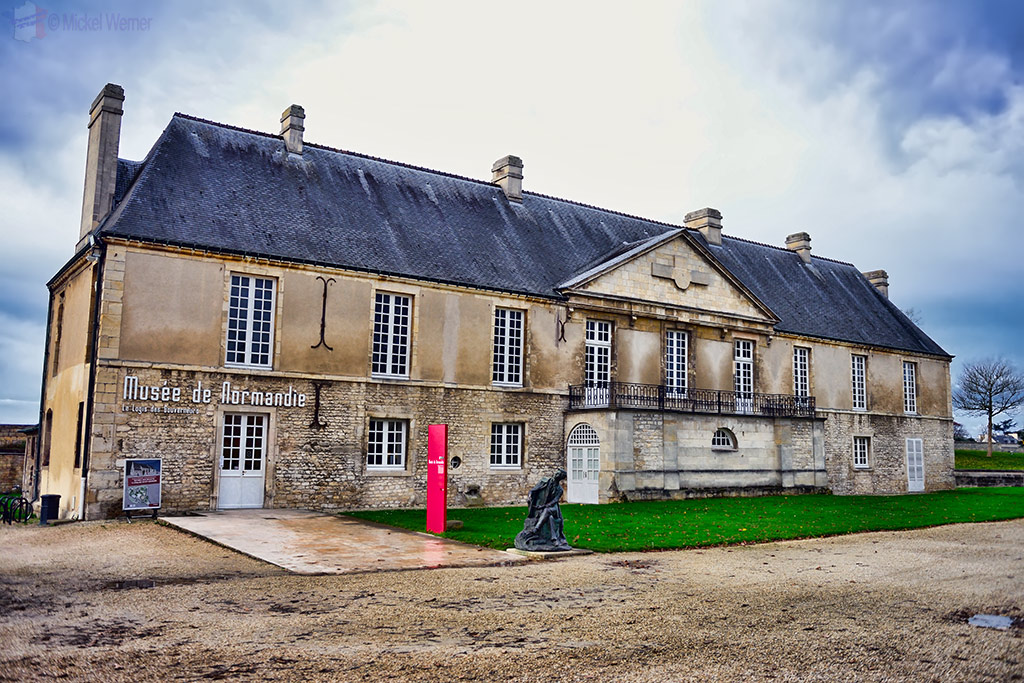 Governor's house on the Caen castle grounds