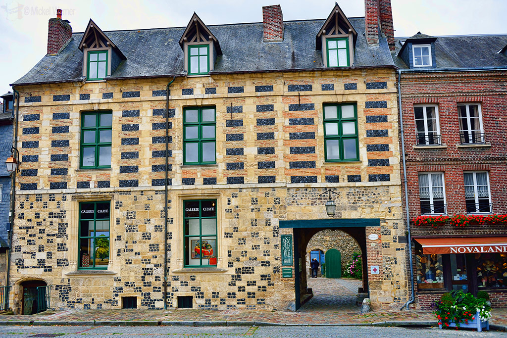 Old house of Honfleur