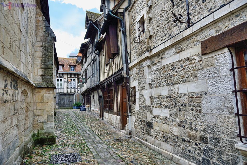 Salt storage alley of Honfleur
