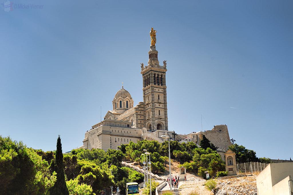 Notre-Dame de la Garde church of Marseilles