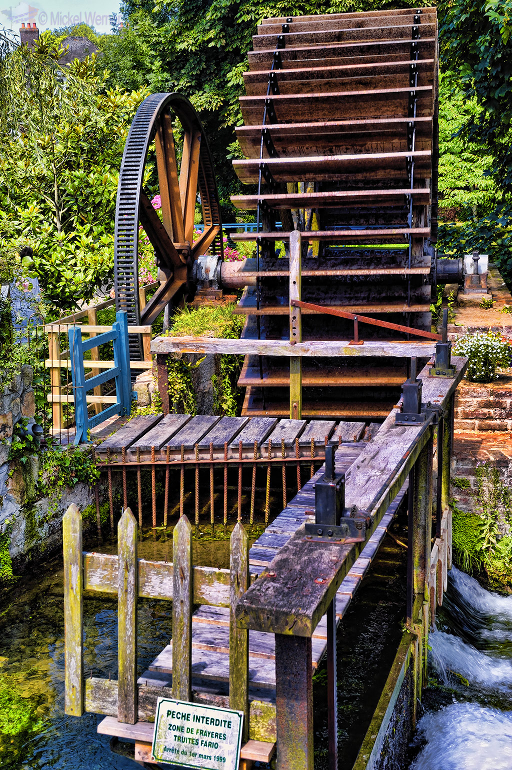 A watermill of Veules-Les-Roses
