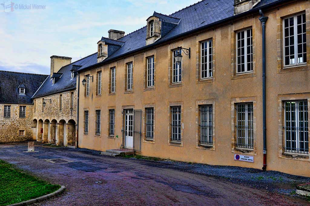 Old hospital complex next to the tapestry museum of Bayeux