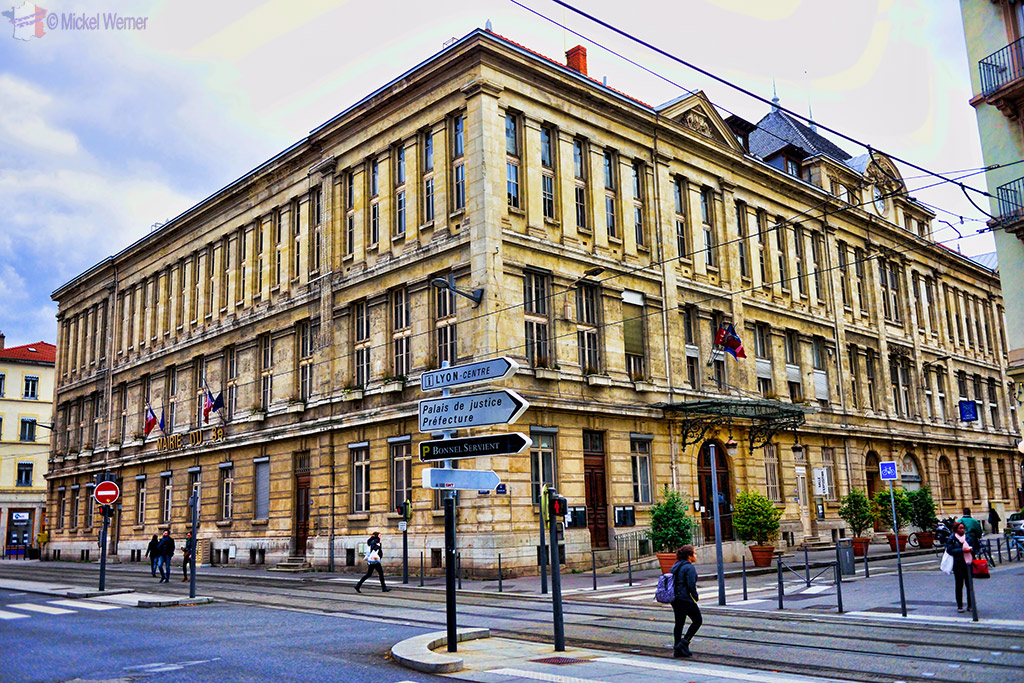 Mairie (City Hall) of the 3rd arrondissements of Lyon