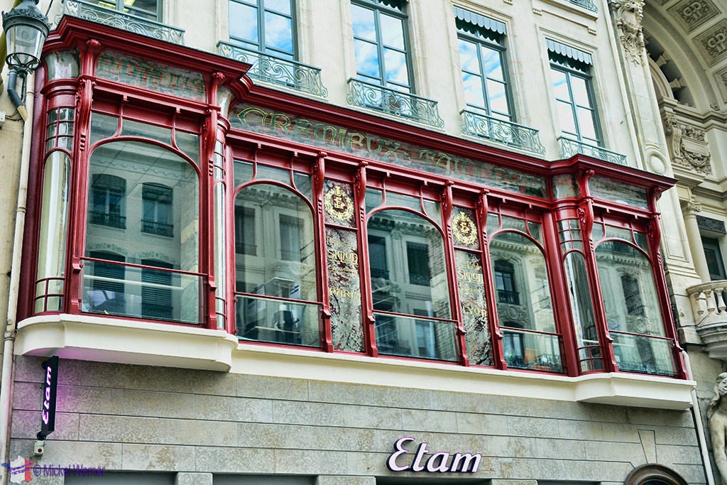 Building facades in Lyon