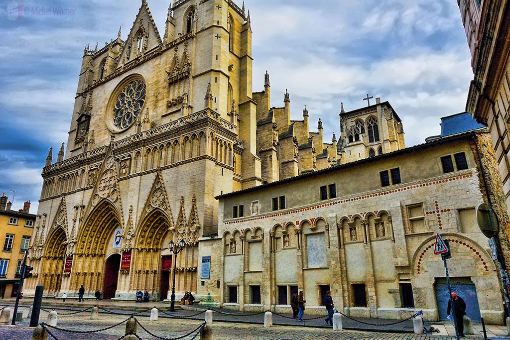 Cathedrale Saint-Jean-Baptiste de Lyon - Saint John the Baptist Cathedral of Lyon