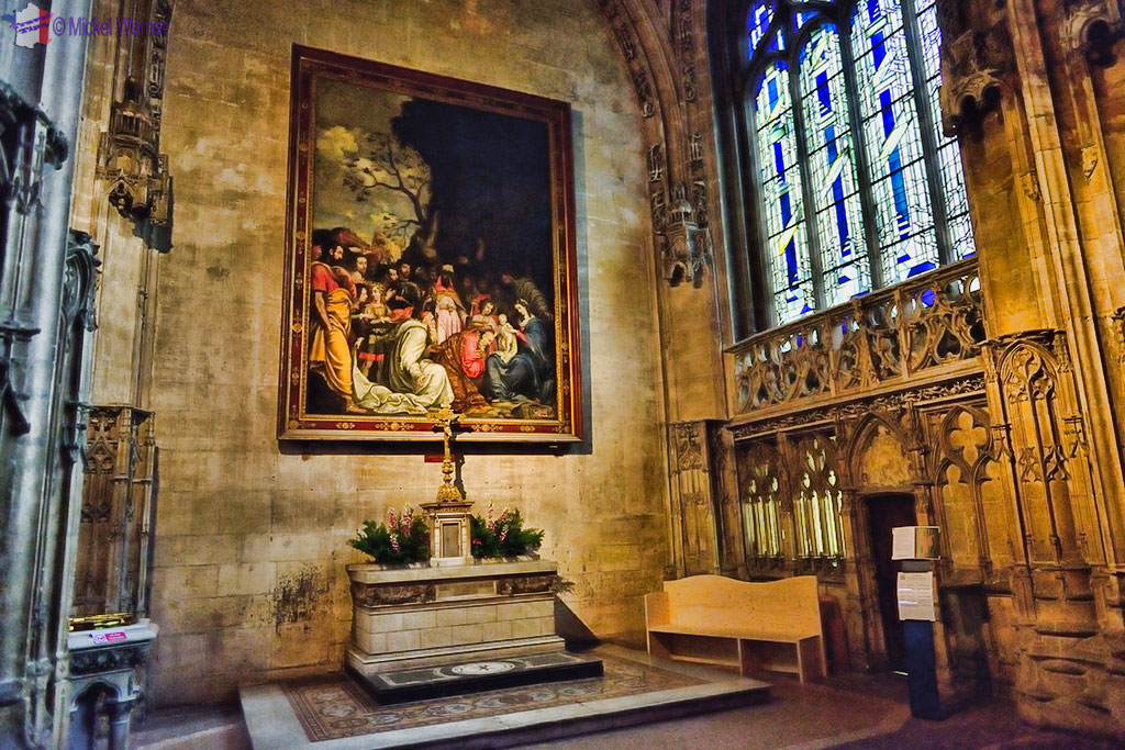 The Bourbon Chapel in the Cathedral in Lyon