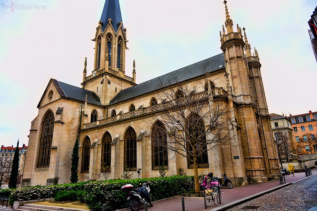Saint George church of Lyon