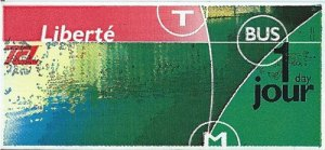 Lyon Transportation - Liberte card