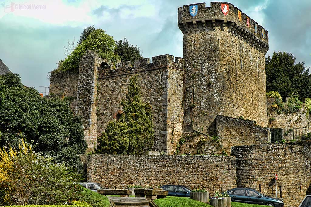 Avranches Castle and Dungeon