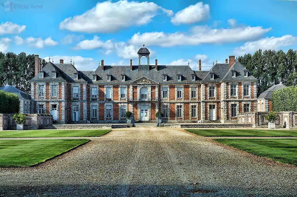 Chateau (castle) Galleville at Doudeville in Upper Normandy