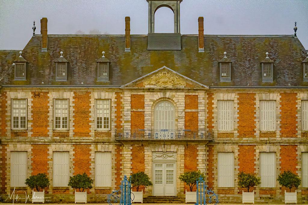 The castle of Doudeville called Chateau de Galleville in Normandy