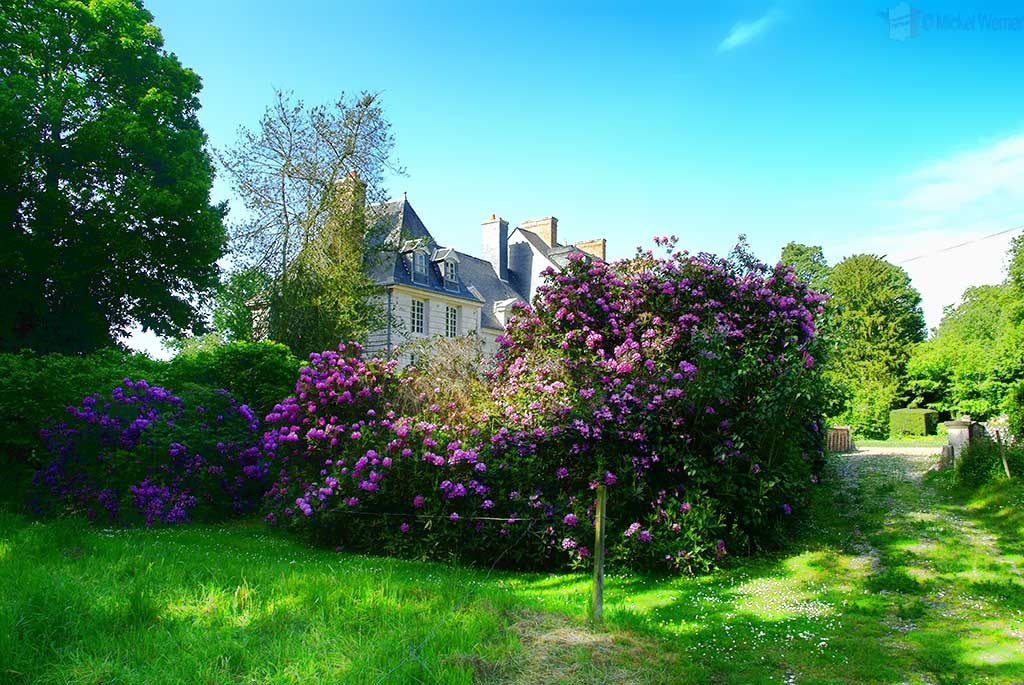 The gardens of the Gommerville's Castle Filieres
