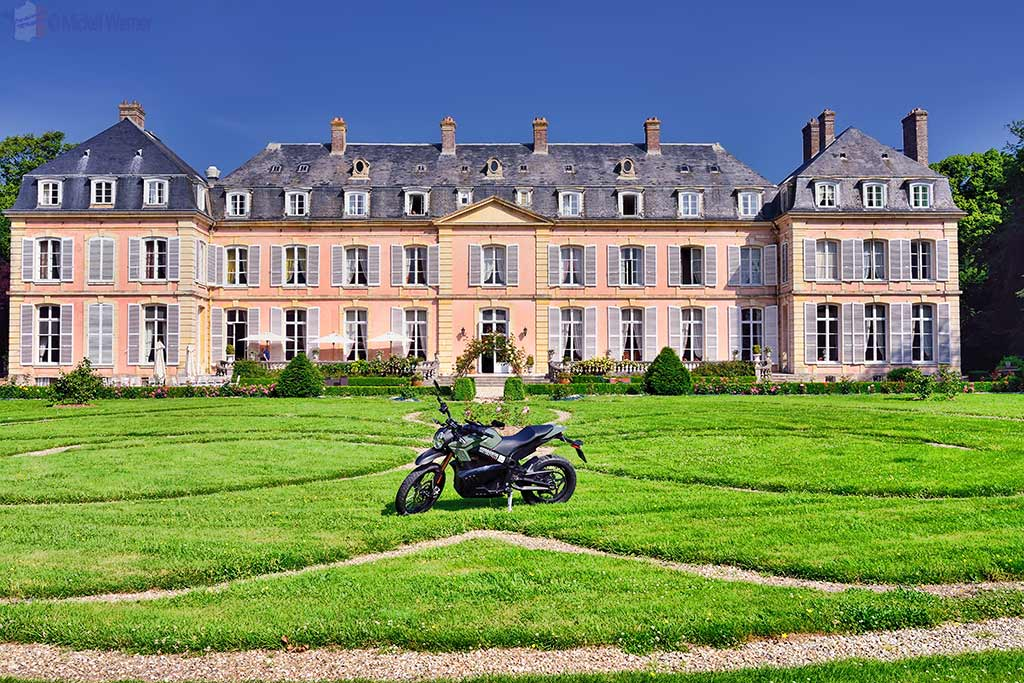 "The ""Sissi Castle"" in Sassetot-le-Mauconduit, Normandy"