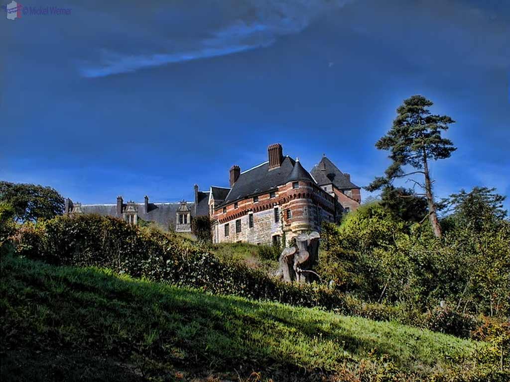 Chateau d'Estouteville of Valmont, Normandy