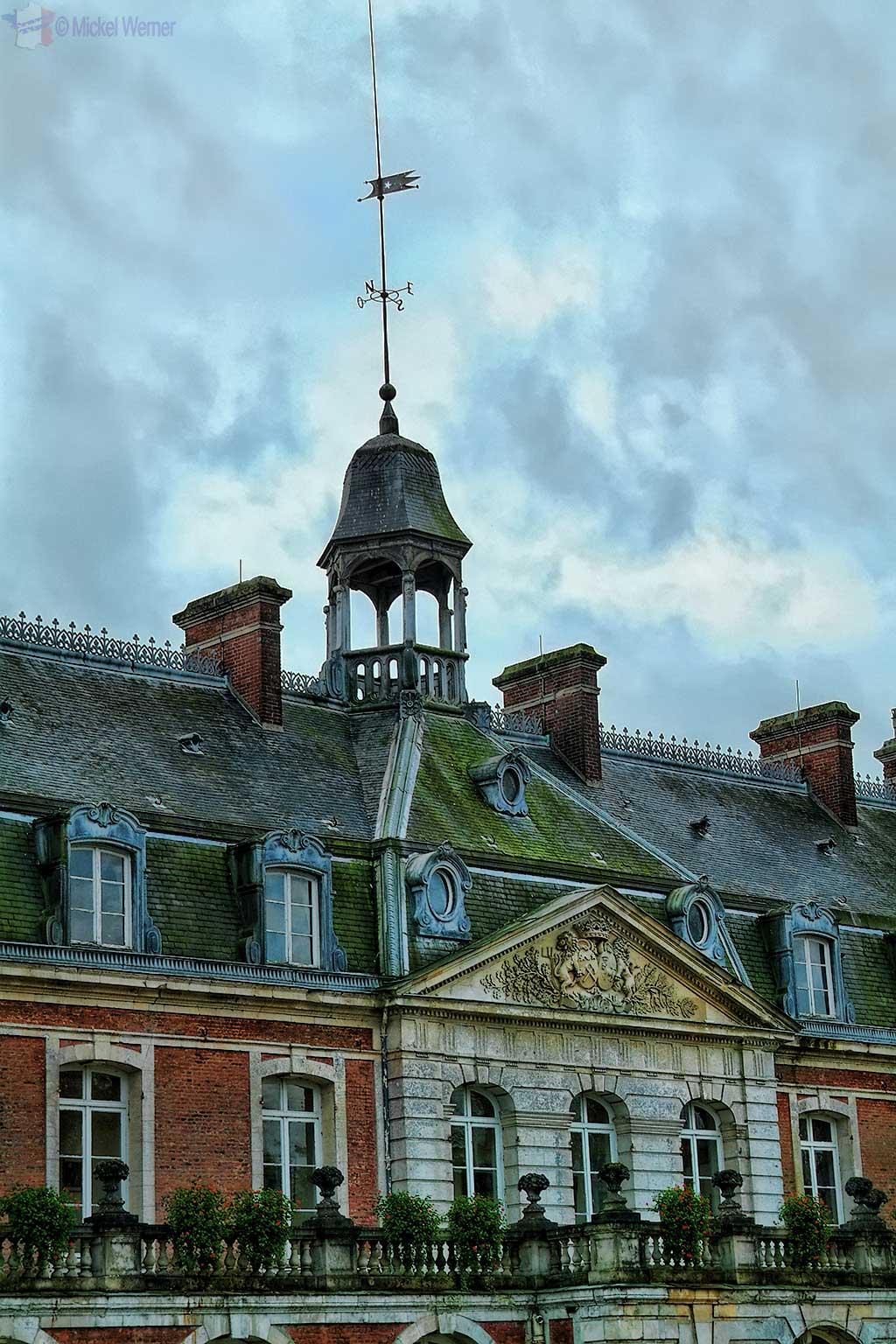Steeple of the Chateau de Villequier at Villequier