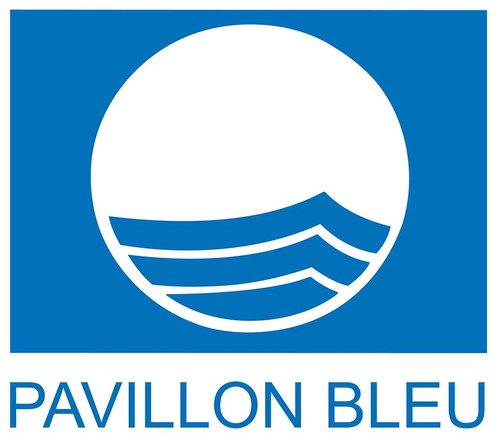 Pavillon Blue (Blue flag) logo