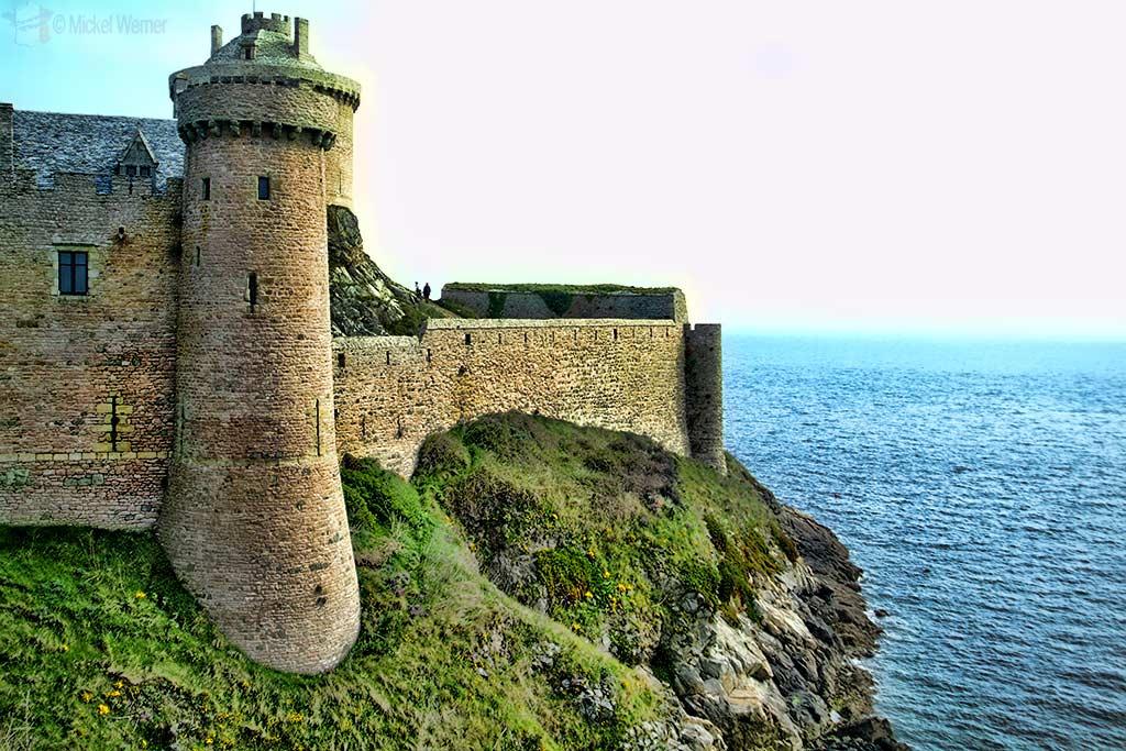 Fort-la-Latte fortress in Plevenon, Brittany