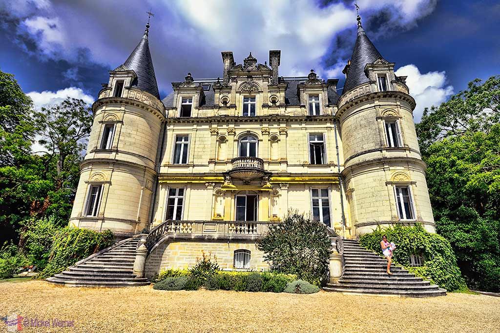 Domaine de la Tortiniere castle in Veigne (Loire Valley)