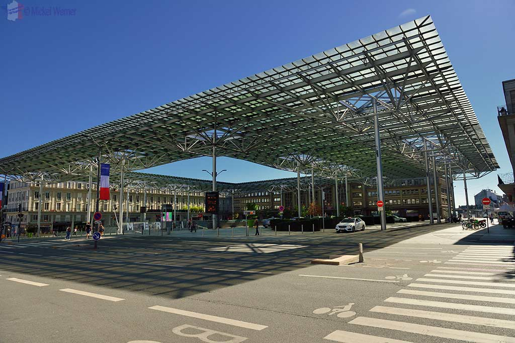 The SNCF railway station of Amiens