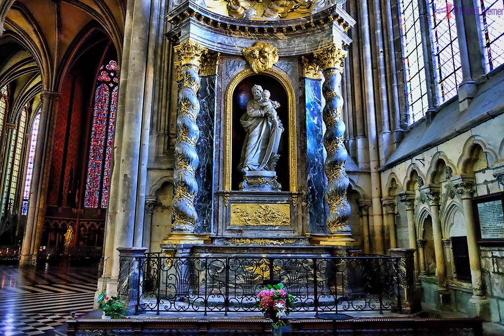 Chapel of Mere-Dieu Anglesque or Notre-Dame Anglette, known as Saint-Joseph of the Amiens cathedral