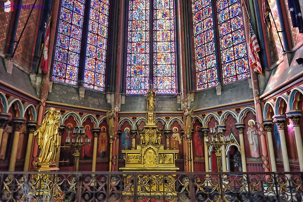 Saint-Jacques-le-Majeur chapel of the Amiens cathedral