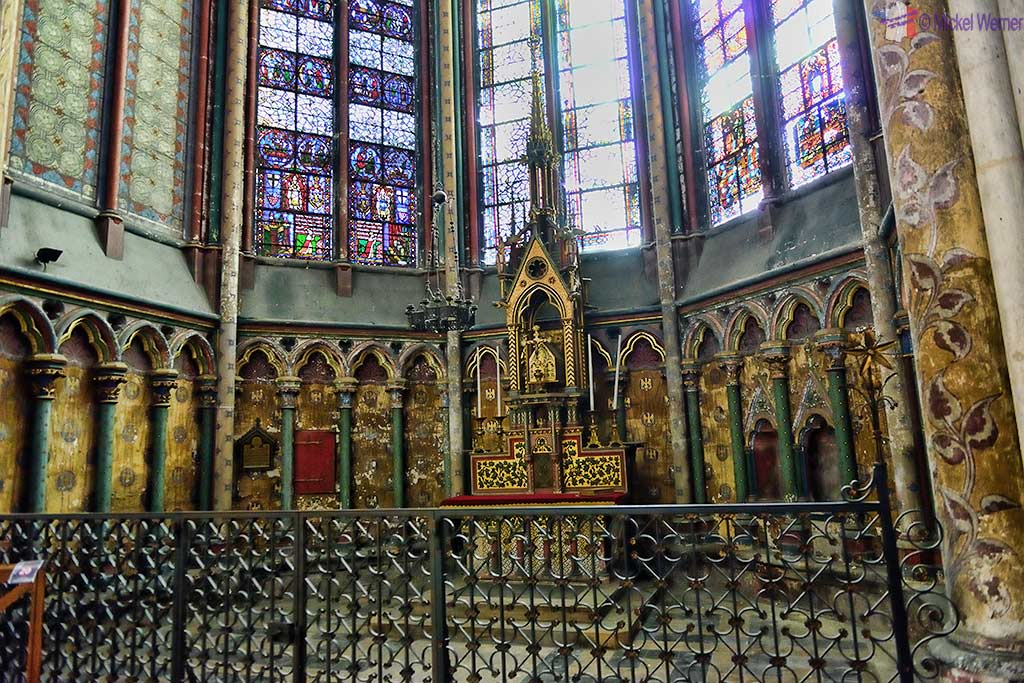 The Saint-Augustin-de-Cantorbery chapel of the Amiens cathedral