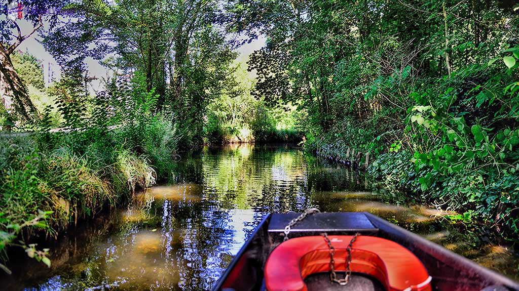 The boat tours of the Hortillonnages of Amiens