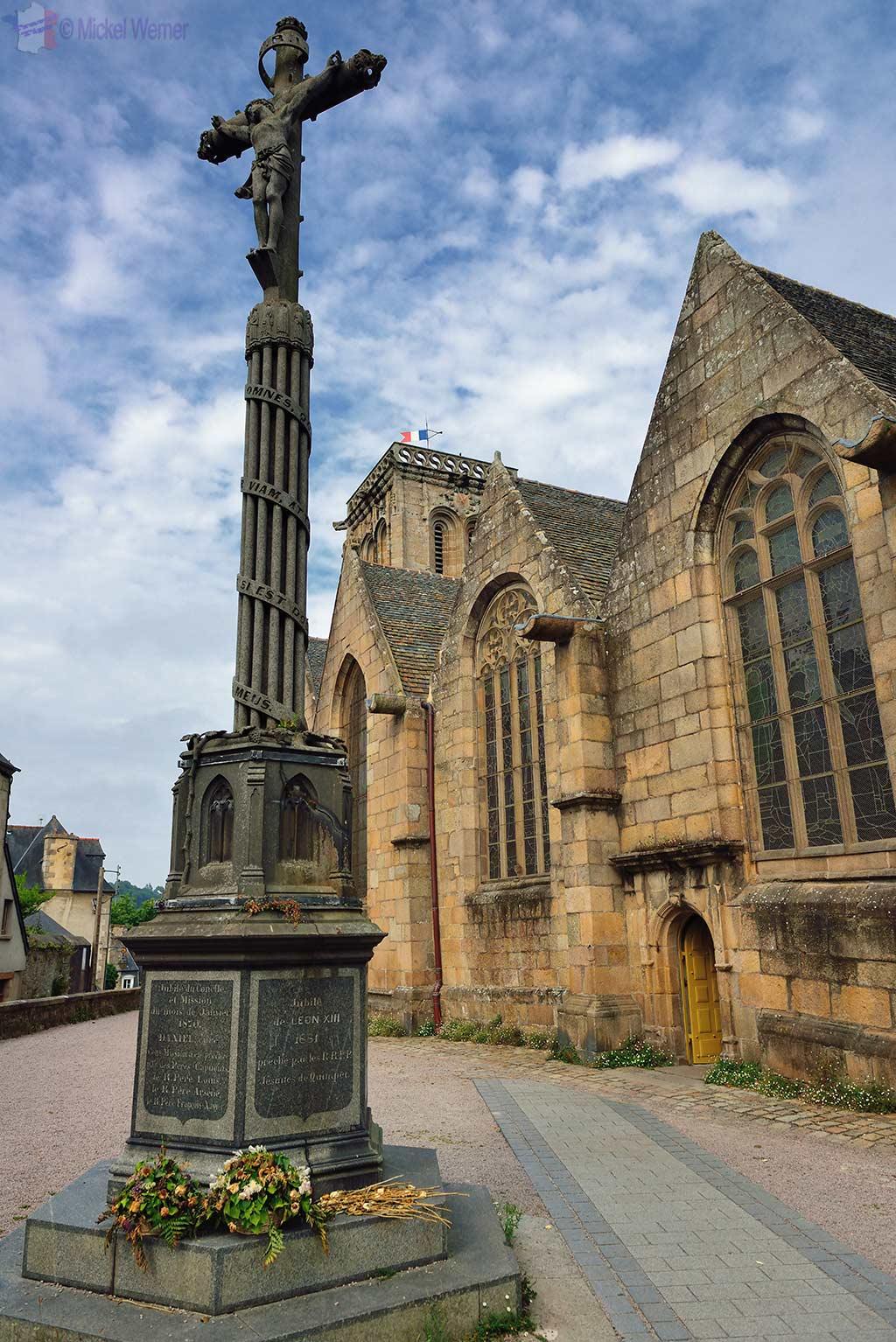 Saint-Jean-du-Baly church of Lannion, Brittany