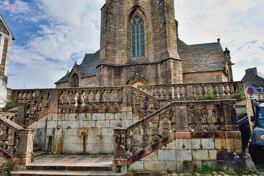 Saint-Jean-du-Baly church of Lannion, Brittany