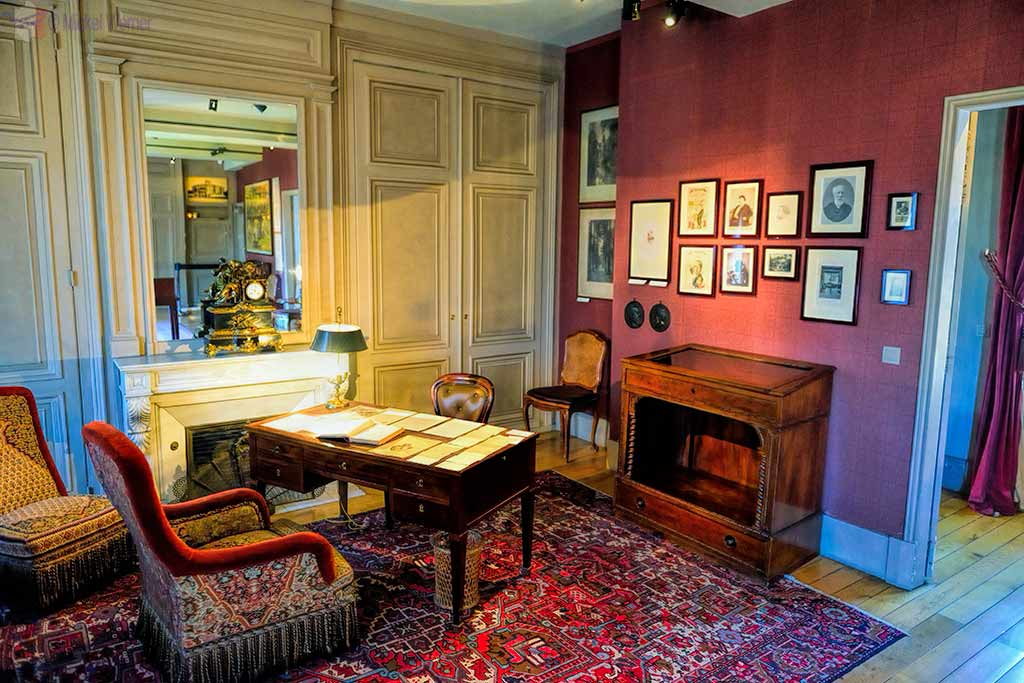 The Jules Verne house and museum in Amiens
