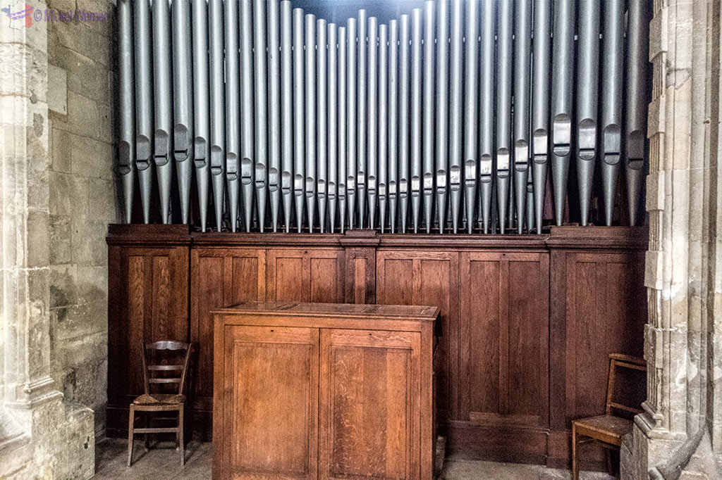 2nd organ of the Notre-Dame du Havre Cathedral of Le Havre, Normandy