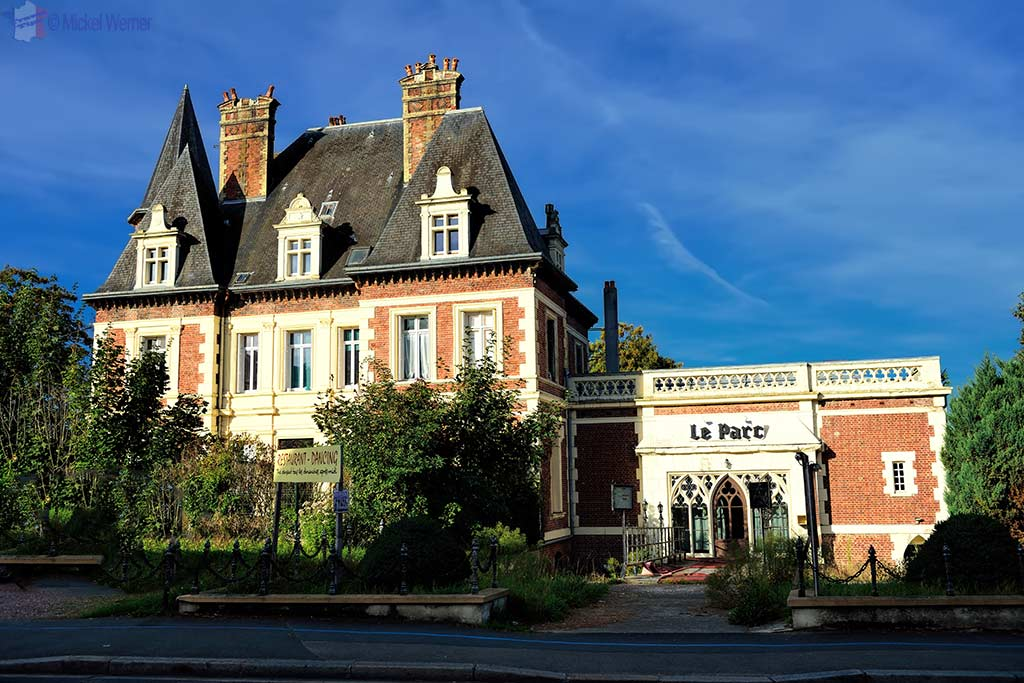 A restaurant in Lisieux, Normandy