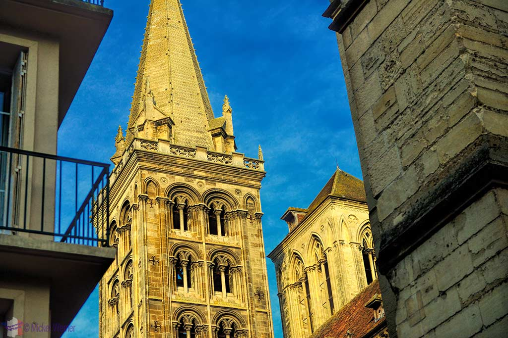 Steeple of the Saint-Pierre cathedral of Lisieux, Normandy