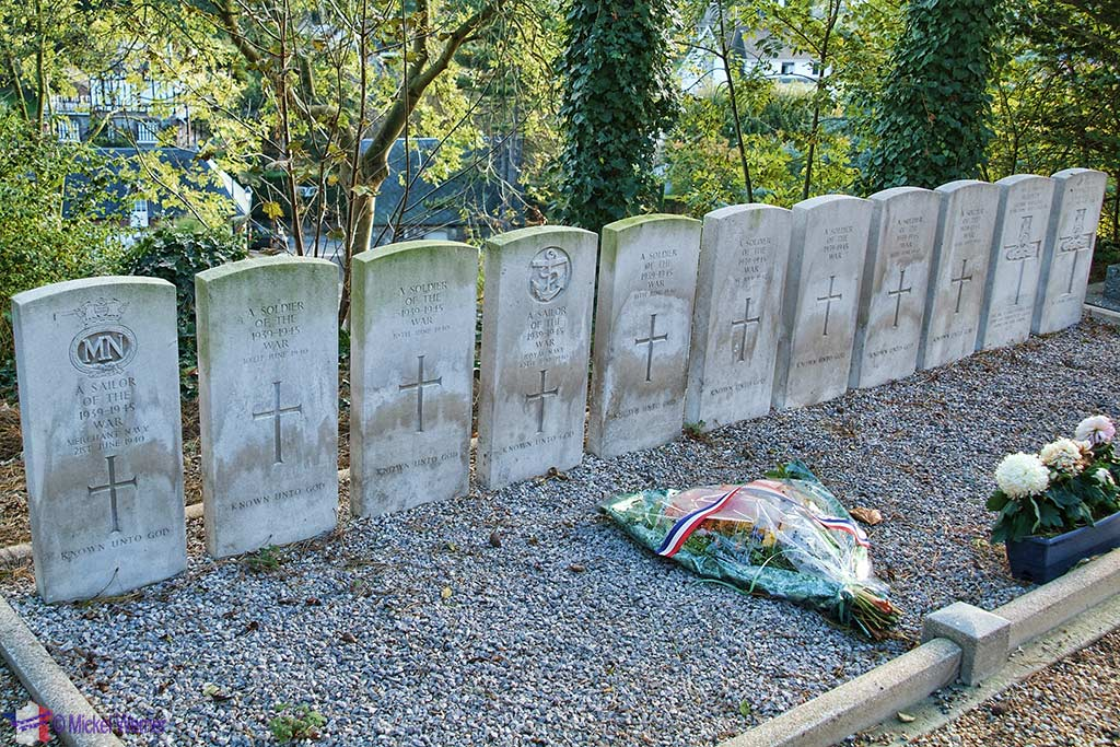 The War Graves at Veulettes-Sur-Mer, Normandy