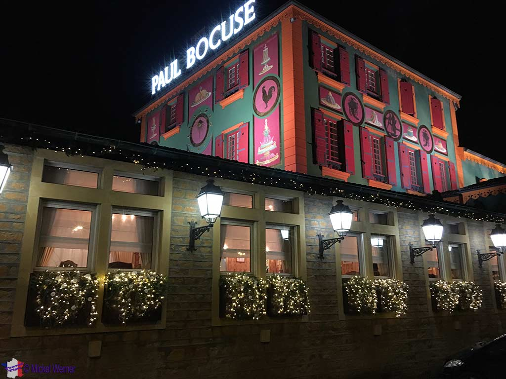 Paul Bocuse's Auberge du Pont de Collonges restaurant close to Lyon