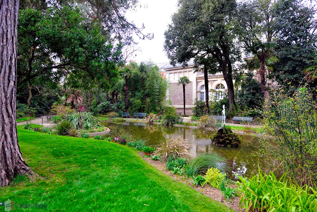 The Emmanuel Liais Park in Cherbourg