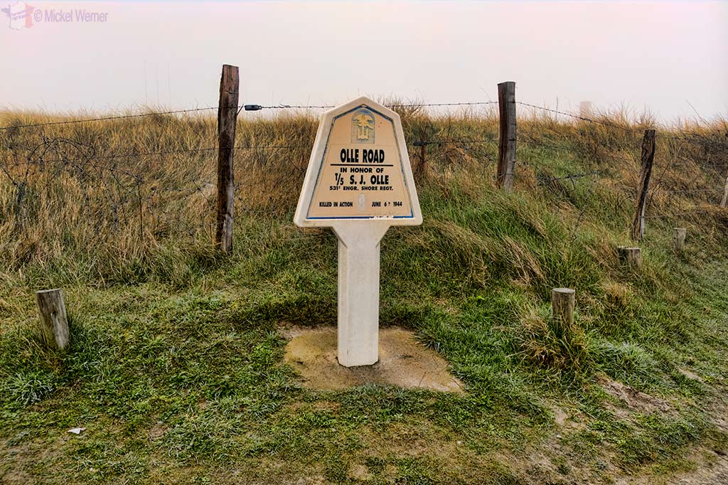 Path named after fallen American soldiers at Utah Beach in Normandy