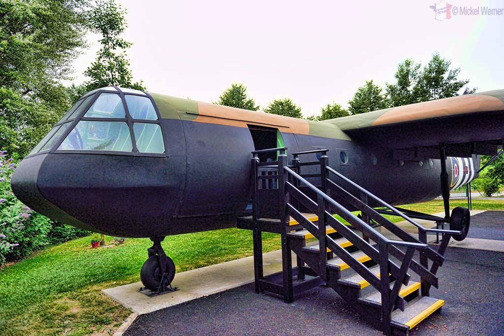 A Horsa glider at the Pegasus Memorial Museum