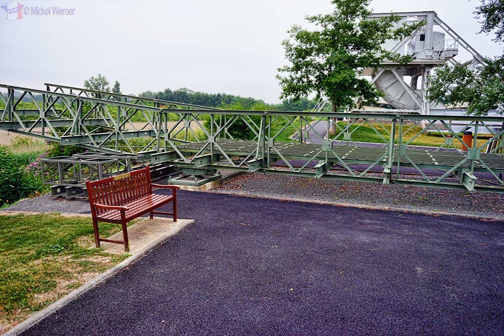 Bailey Bridge as used by the Allied troops at the Pegasus Bridge Memorial