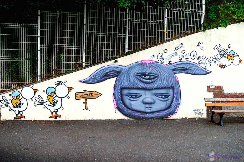 Flying Gouzous by Jace in Le Havre