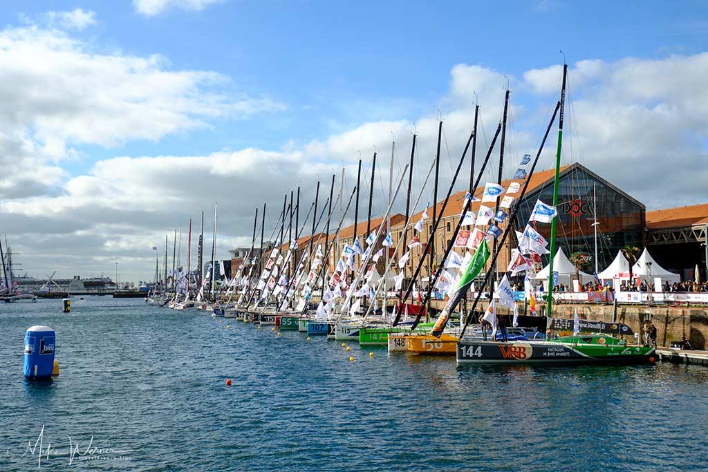 Le Havre – Start of the Transat Jacques Vabre Event – Trans-Atlantic Sailboat Race