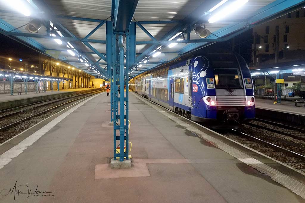 New style Intercites train