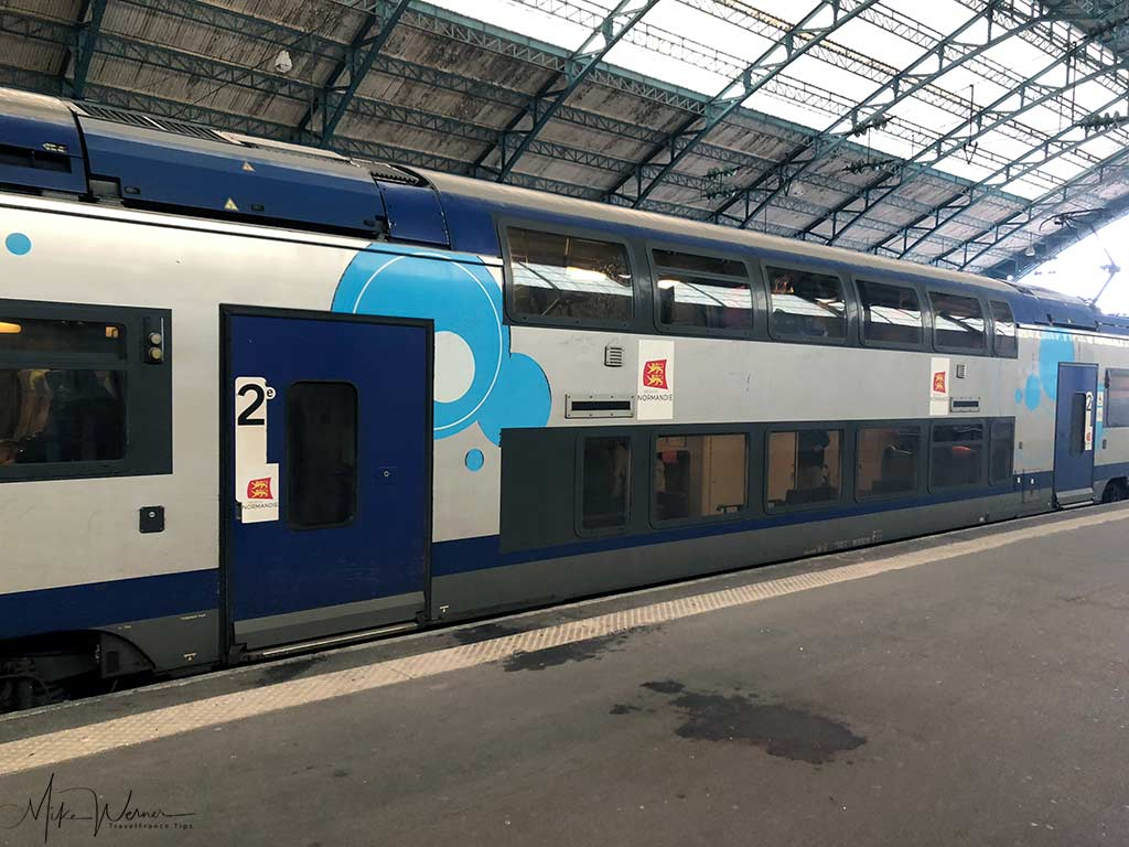 Double Decker Modern Intercites train of the SNCF