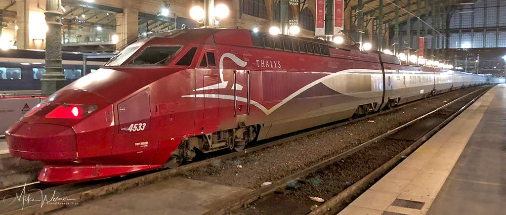 Thalys High Speed Train, TGV, serving Belgium, The Netherlands and Germany
